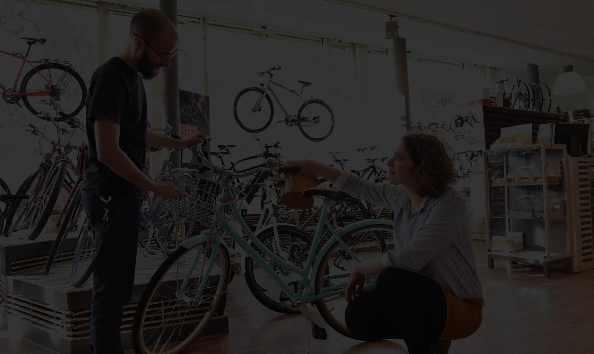 Un large choix de vélos